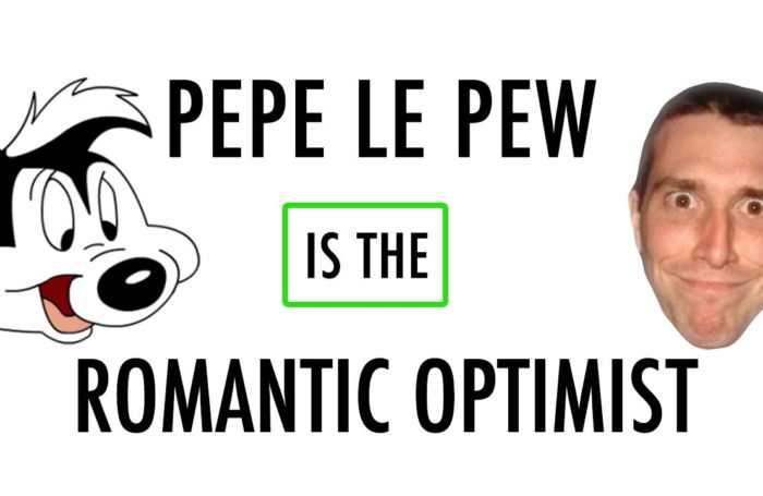 Pepe Le Pew: The Romantic Optimist