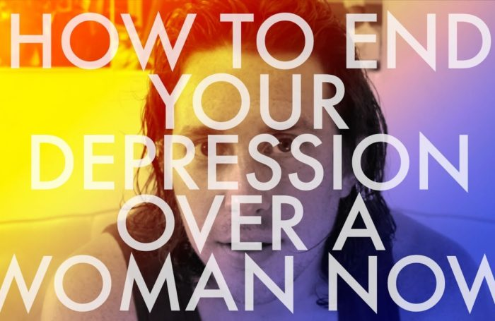 DEPRESSED FROM A WOMAN? HERE'S THE SURE-FIRE CURE…